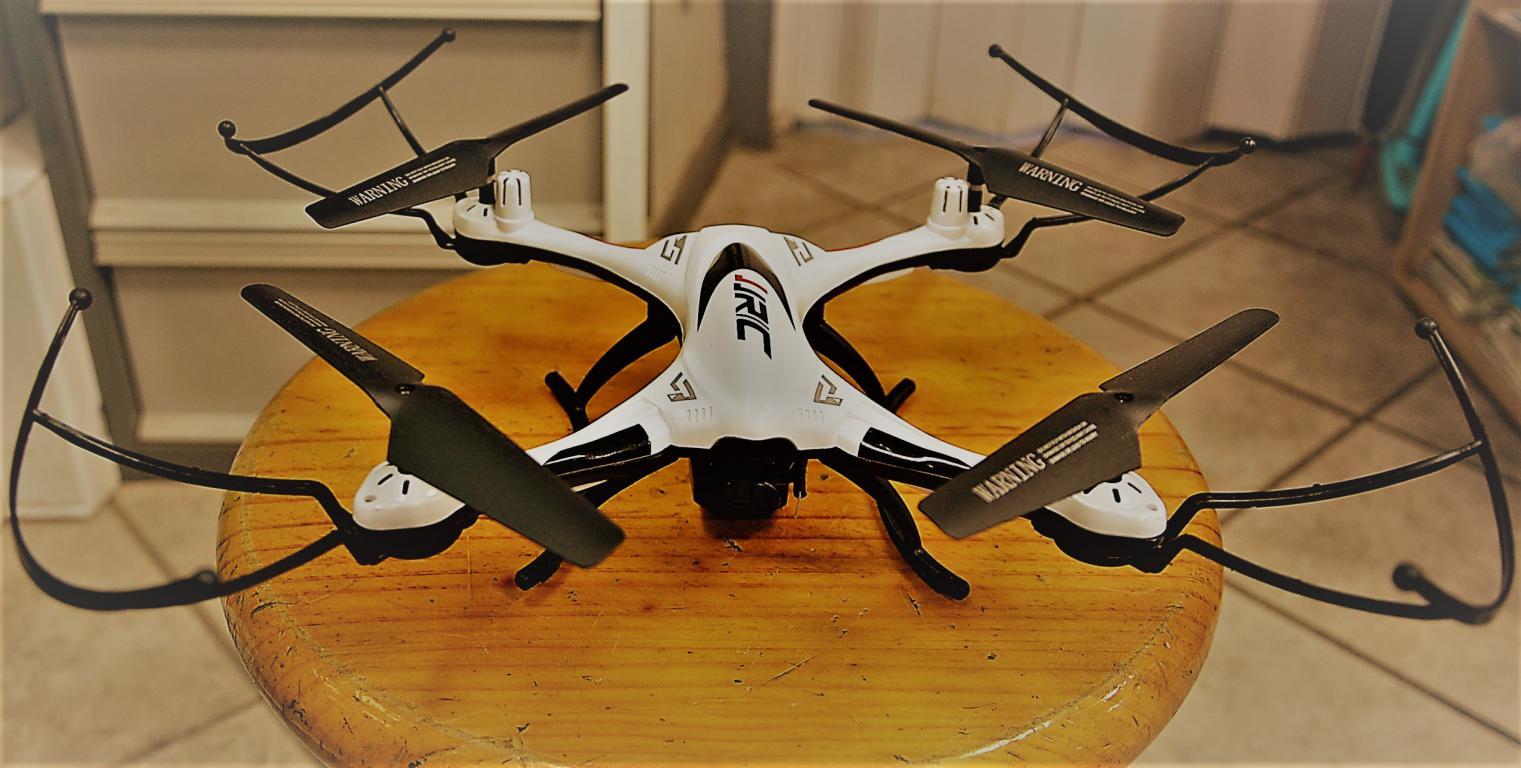 drone-jrc-resistant-eau-camera -accessoires-batterie-autonomie-longue
